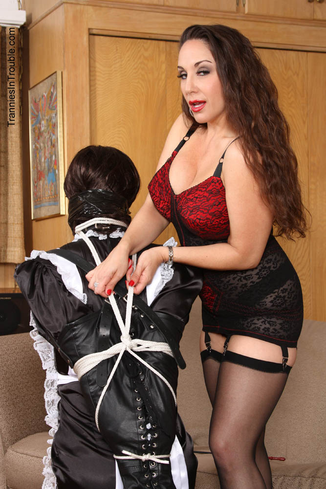 Sissy tranny husband punishment