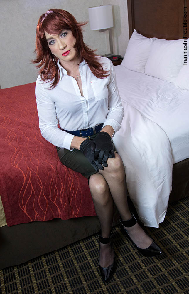 Tranny in troulbe
