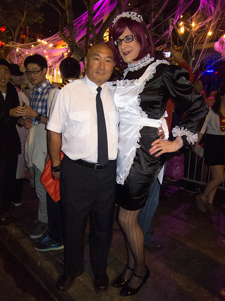 West hollywood halloween tranny