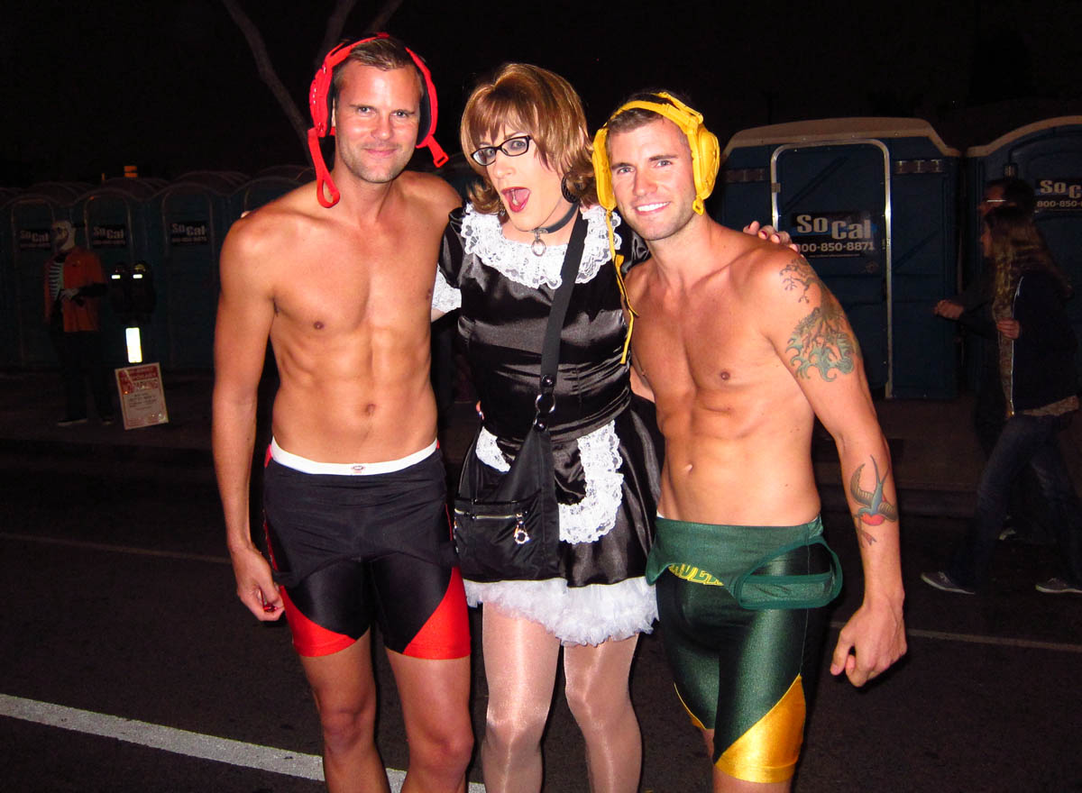 Halloween in West Hollywood Shemalecom