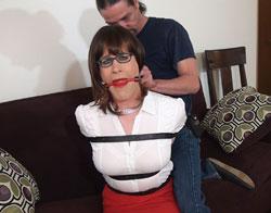 Bondage skirt video